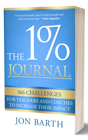 The 1% Journal: 366 Challenges for Teachers and Coaches to Increase Their Impact
